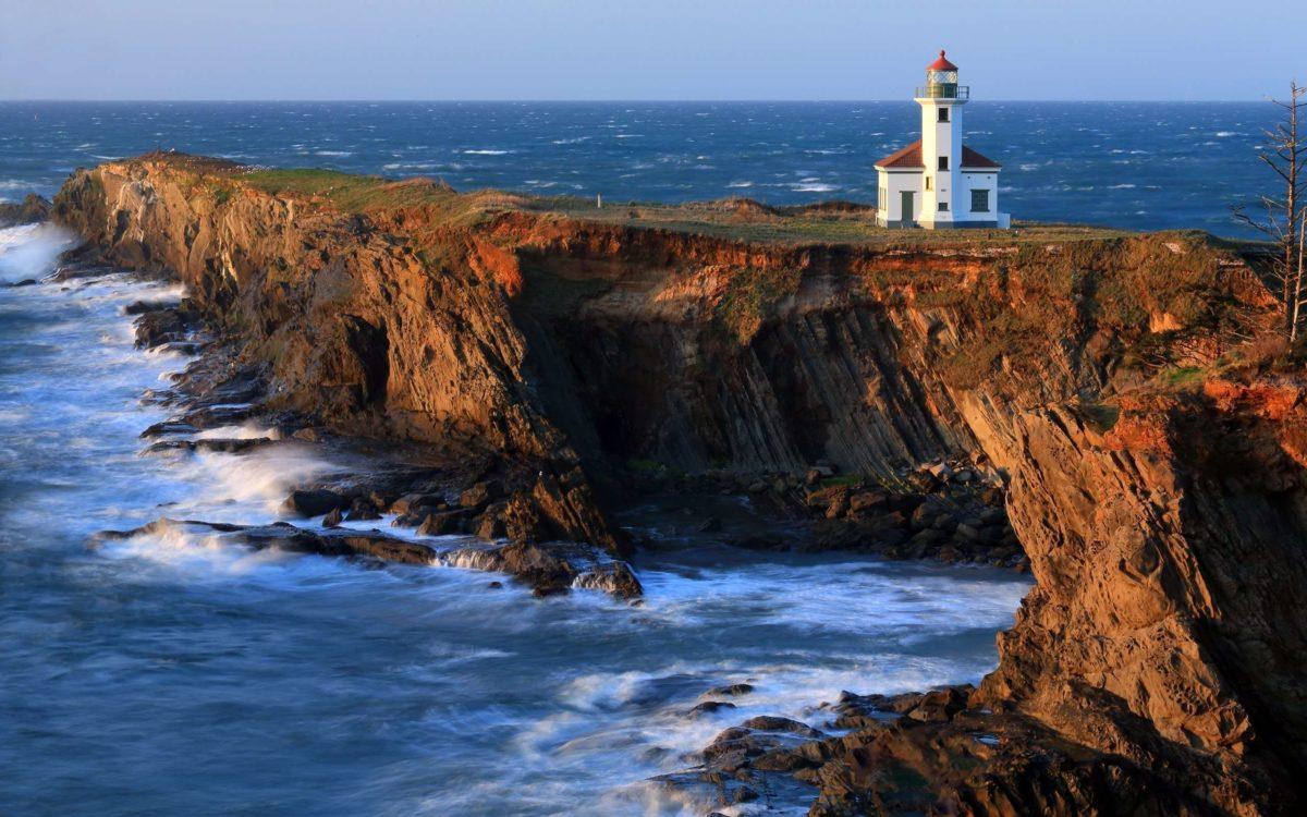Cape Arago Lighthouse Wallpaper – Widescreen Wallpaper | HD …