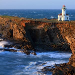 download Cape Arago Lighthouse Wallpaper – Widescreen Wallpaper   HD …