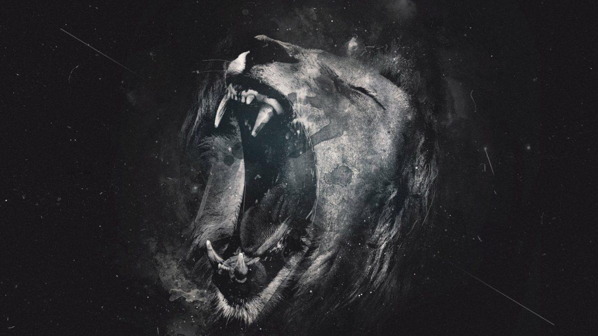Roaring lion Wallpaper #