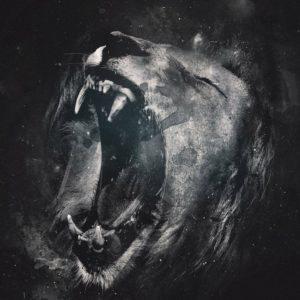 download Roaring lion Wallpaper #