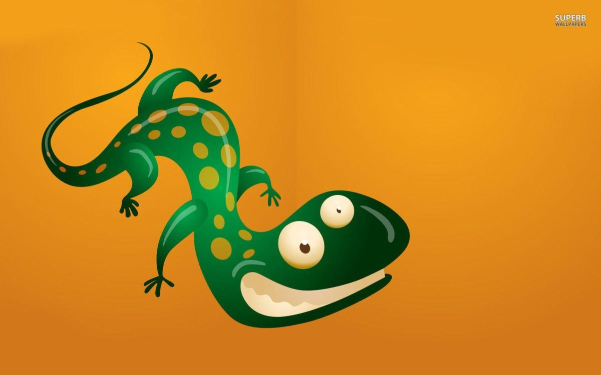 Grinning lizard wallpaper – Funny wallpapers – #