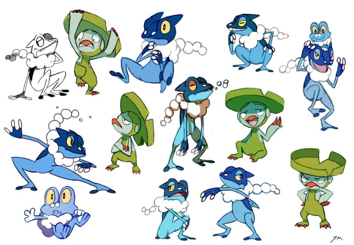 Some frog pokemon + Lombre :) | Pokemon | Pinterest | Pokémon, Frogs …