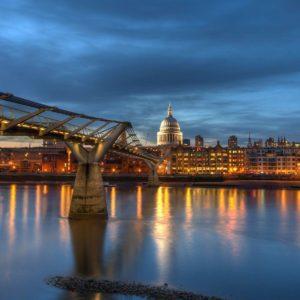 download London Millennium Bridge desktop backgrounds