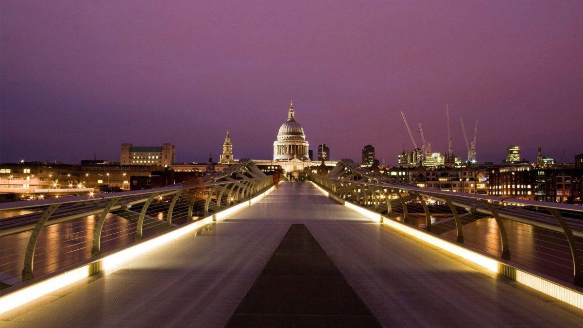 millennium bridge london cityscape wallpaper | Desktop Backgrounds …