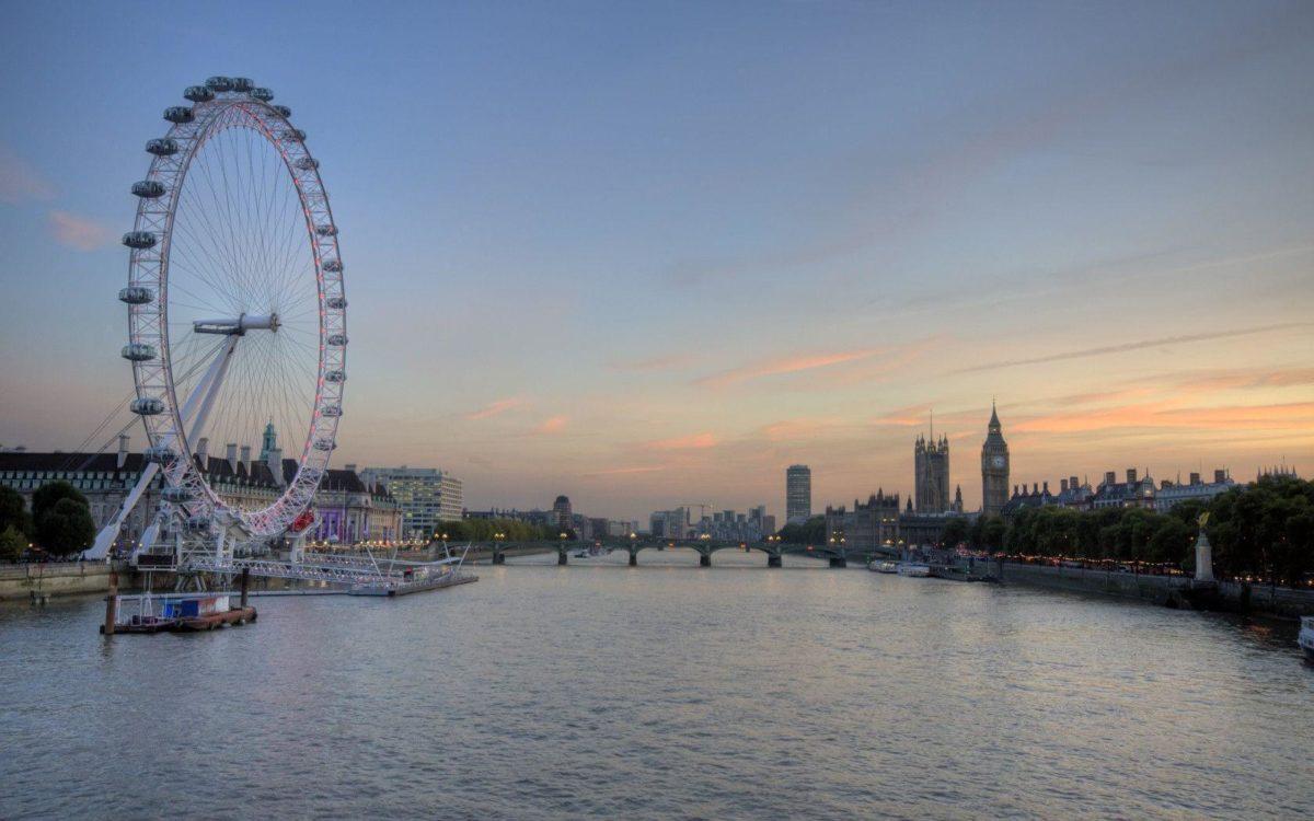 1680×1050 London Eye and Big Ben desktop PC and Mac wallpaper