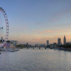 download 1680×1050 London Eye and Big Ben desktop PC and Mac wallpaper