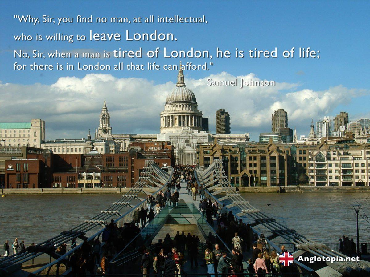 Desktop Wallpaper: London, Thames and St Paul's – Tired of London …