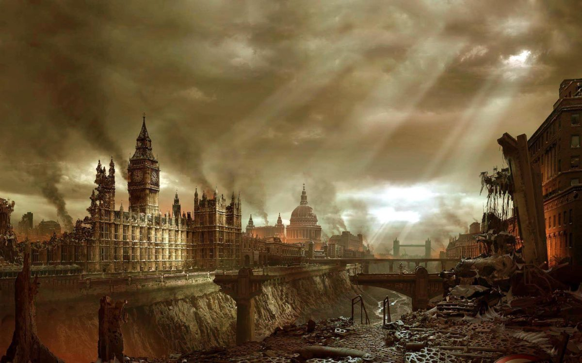 Post Apocalyptic London wallpaper – 590192