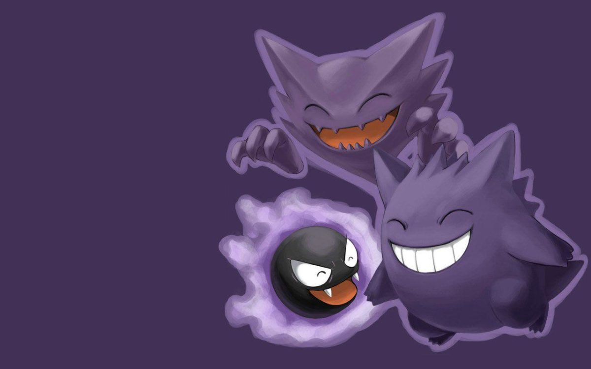 36 Haunter (Pokémon) HD Wallpapers | Background Images – Wallpaper Abyss