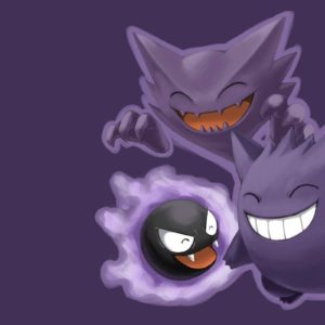 download 36 Haunter (Pokémon) HD Wallpapers | Background Images – Wallpaper Abyss