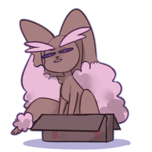 download Shiny Lopunny in a box   Pokémon