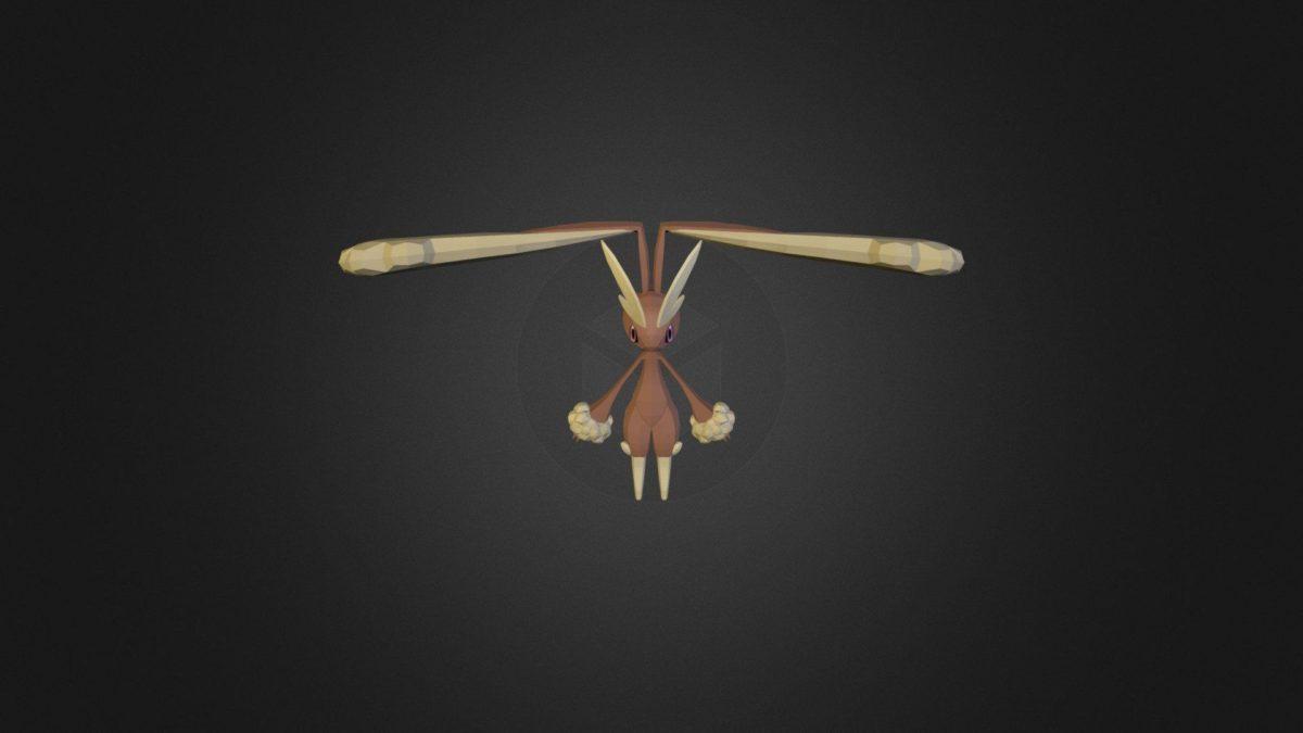 Lopunny – 3D model by karrybird (@karrybird) – Sketchfab