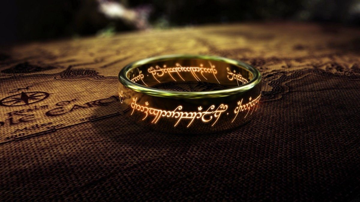 One Ring – The Lord of The Rings Wallpaper #
