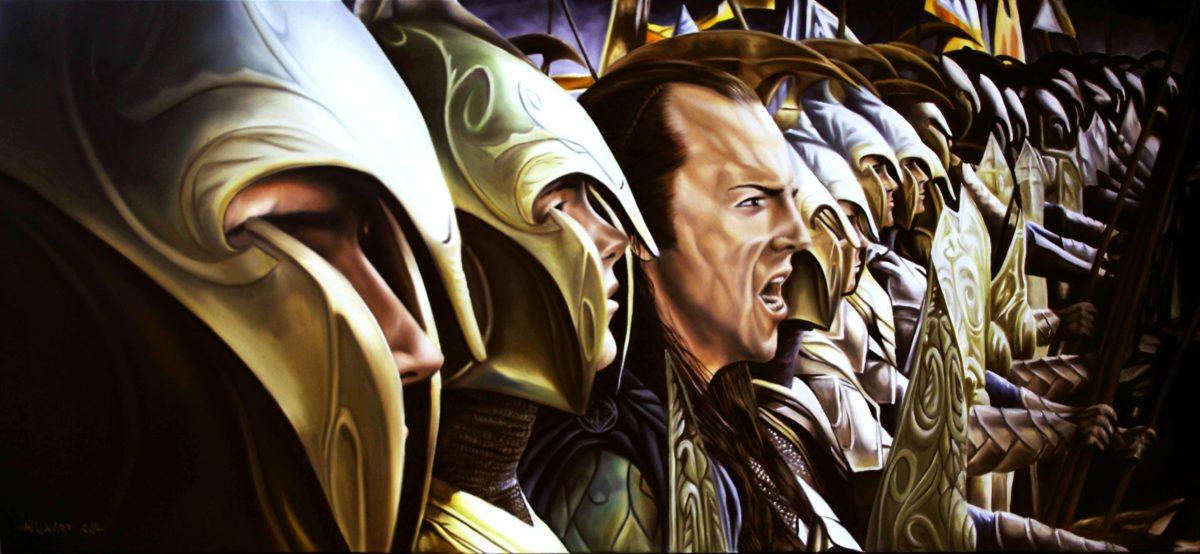 Image – The lord of rings elves artwork elrond desktop 7677×3543 …