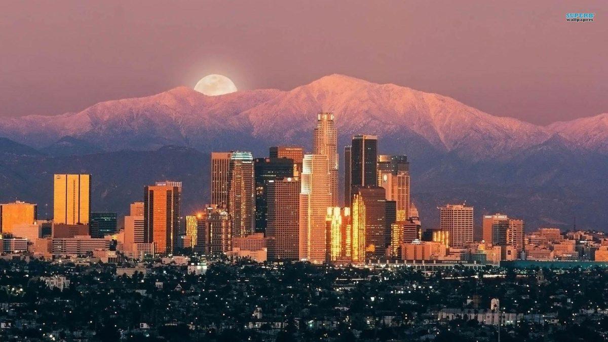 22 Los Angeles HD Wallpaper
