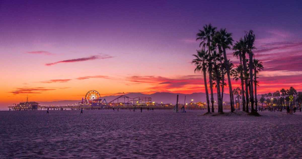 Los Angeles, Santa Monica Beach Wallpaper 4K (4096×2160 …