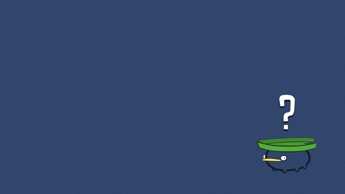 Lotad, Pokemon, Minimalism, Questions Wallpapers HD / Desktop and …