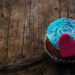 download Marzipan Heart Cream Blue Dessert Cake Love HD Wallpaper – ZoomWalls