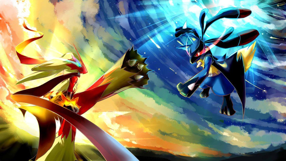 Pokemon Lucario Desktop Wallpaper. – Media file | PixelsTalk.Net