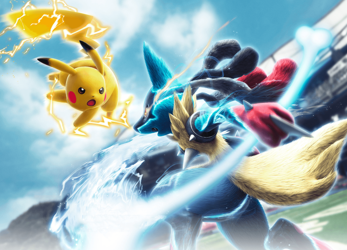 Mega Lucario VS Pikachu Wallpaper and Background Image | 1700×1226 …