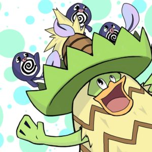 download Ludicolo and Poliwags by alexandea540 on DeviantArt