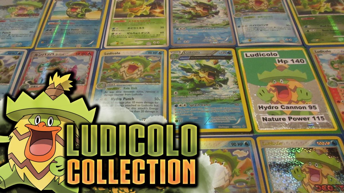 My Entire Ludicolo Pokémon Collection! – YouTube