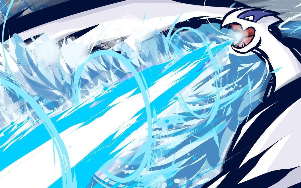 abstract artwork lugia pokemon wallpaper and background