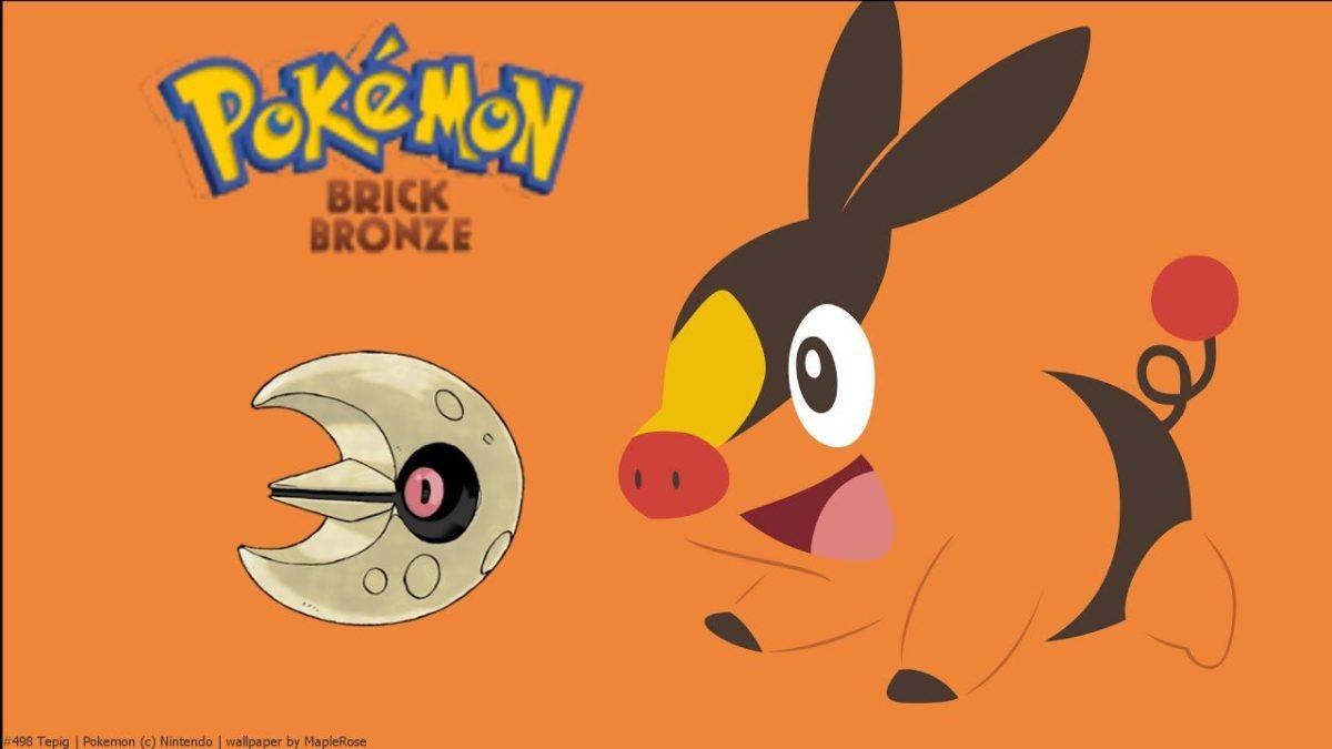 Let's Play Pokemon Brick Bronze #7 Euer ernst ein LUNATONE!!! – YouTube