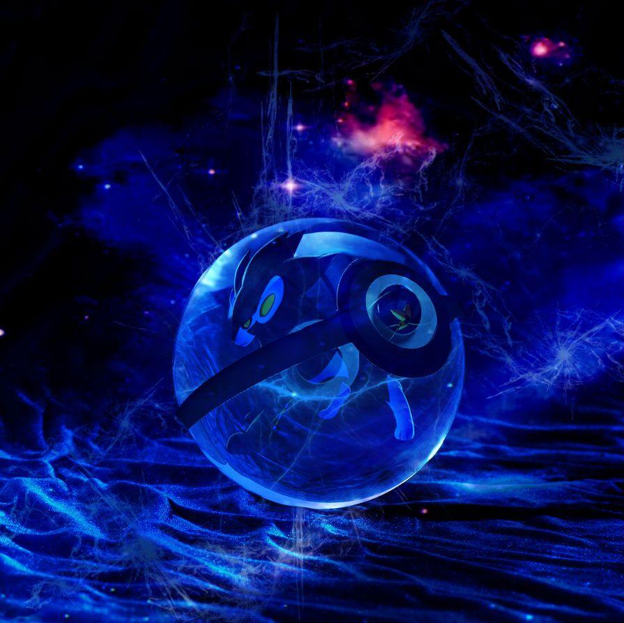 Luxray Pokeball by digi-fan111 on DeviantArt