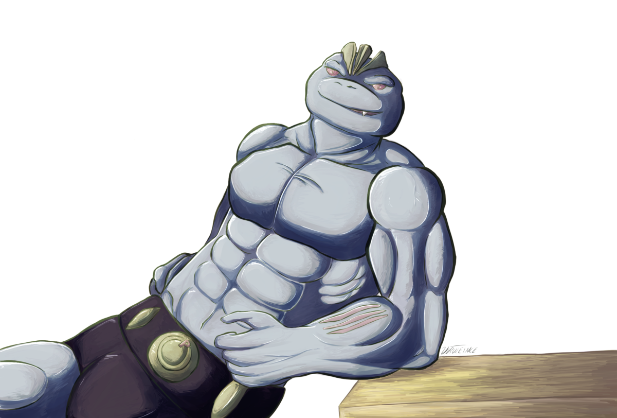 Machoke (PCC6) by VIRULEINCE on DeviantArt