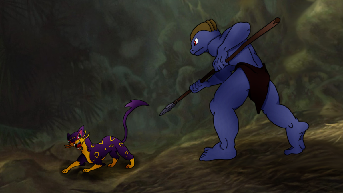 MACHOKE AS TARZAN 2: The Battle Against Sabor by PoKeMoN-Traceur …