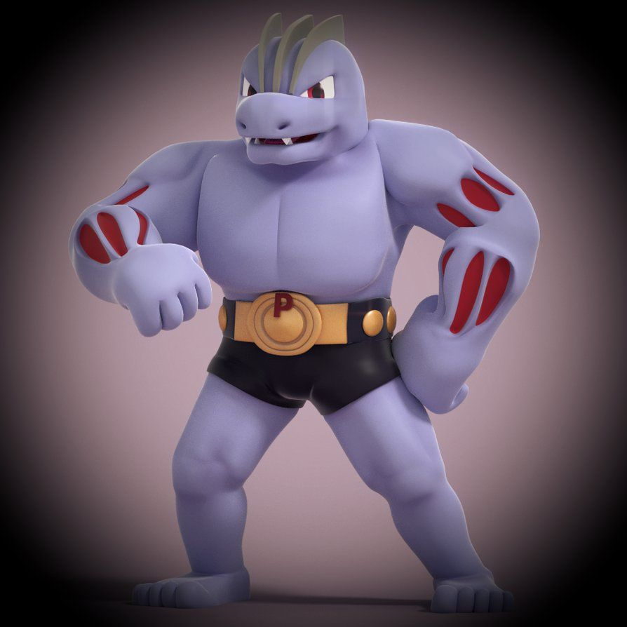 Machoke! by SmashingRenders on DeviantArt