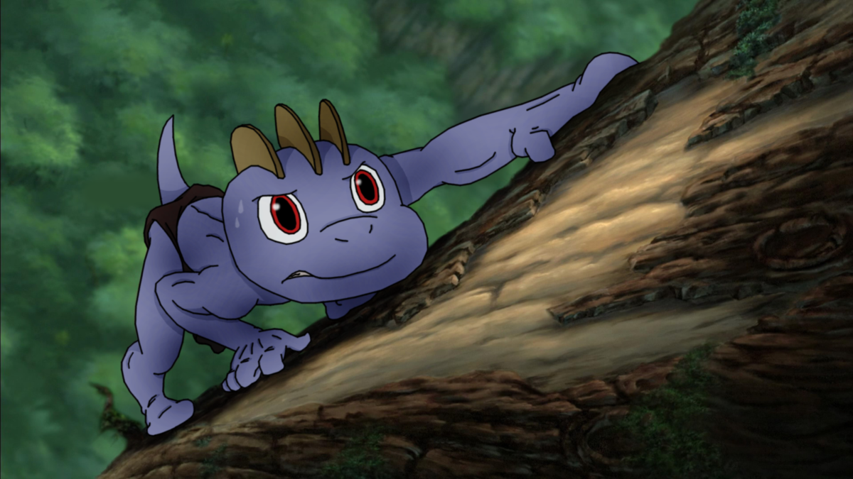MACHOP AS YOUNG TARZAN: Learning to Survive by PoKeMoN-Traceur on …