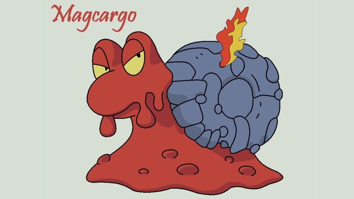 Magcargo Images