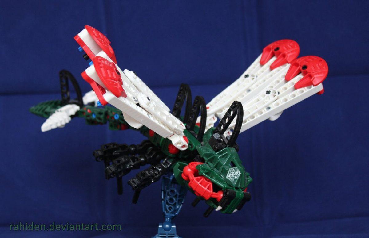 Bionicle PokeMOC: Yanmega by Rahiden on DeviantArt