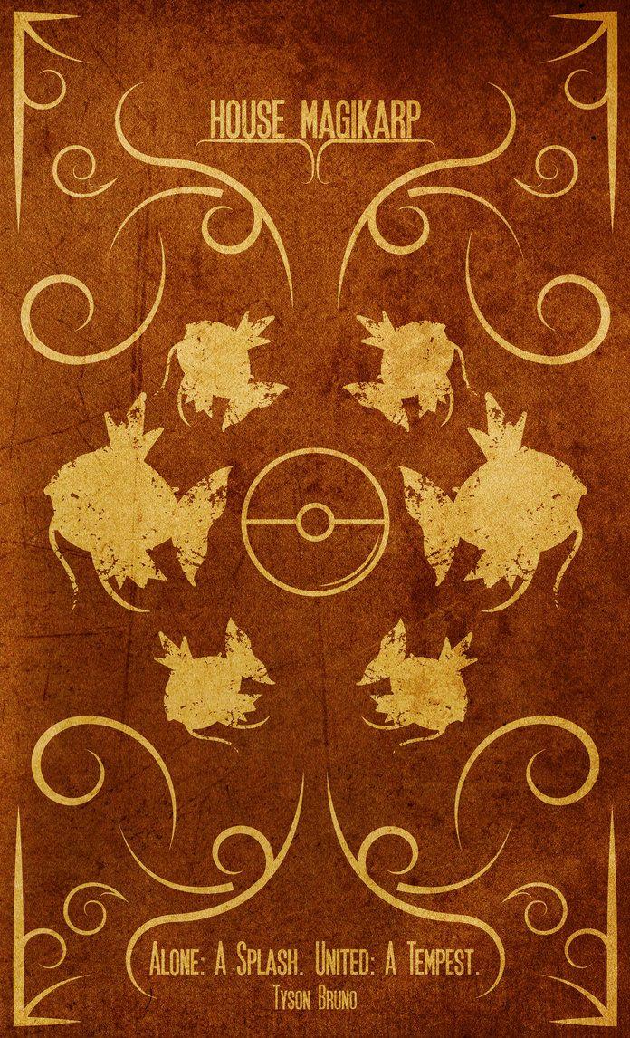 Game Of Thrones: House Magikarp by BTHOT on DeviantArt