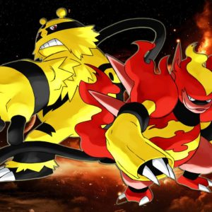 download Pokémon by Review: #240, #126, #467: Magby, Magmar & Magmortar
