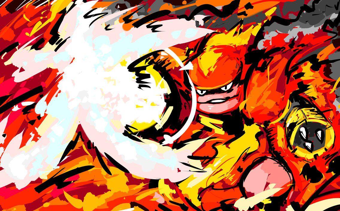 Magmortar | Fire Blast by ishmam on DeviantArt
