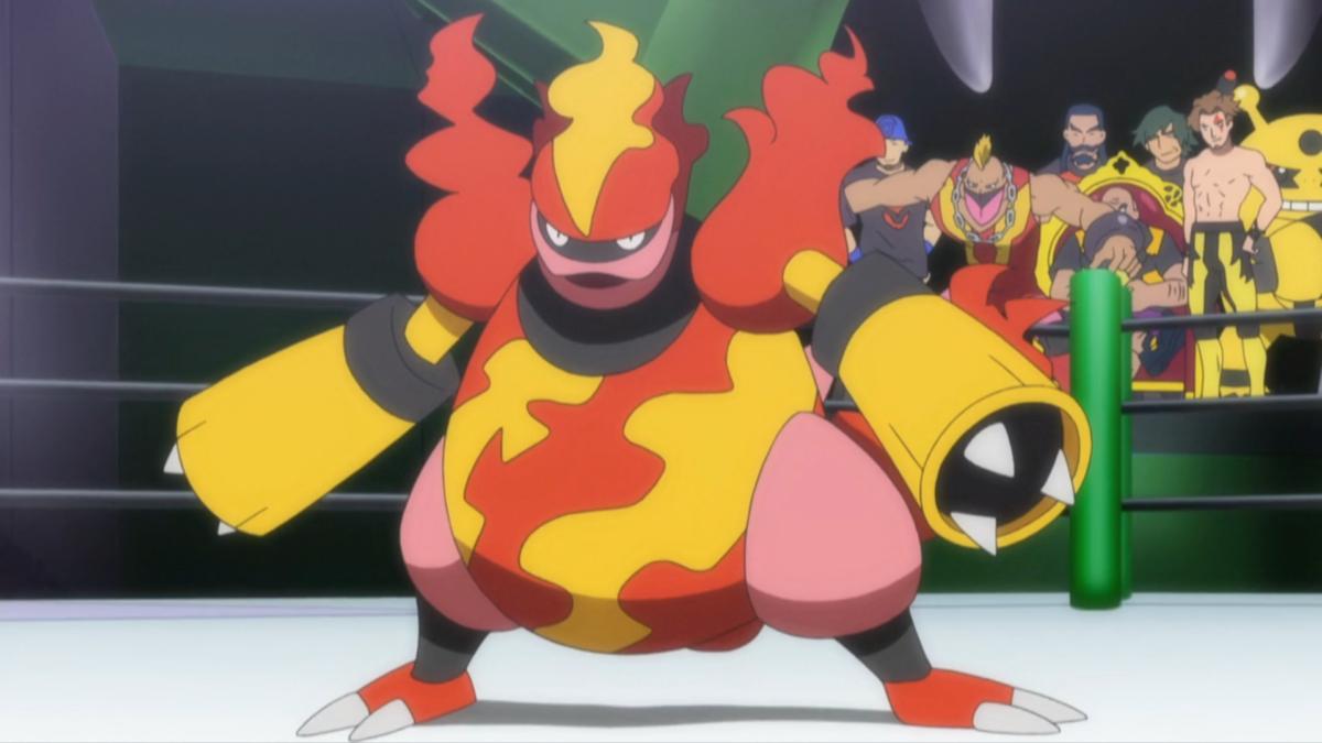 Mad Magmar's Magmortar | Pokémon Wiki | FANDOM powered by Wikia