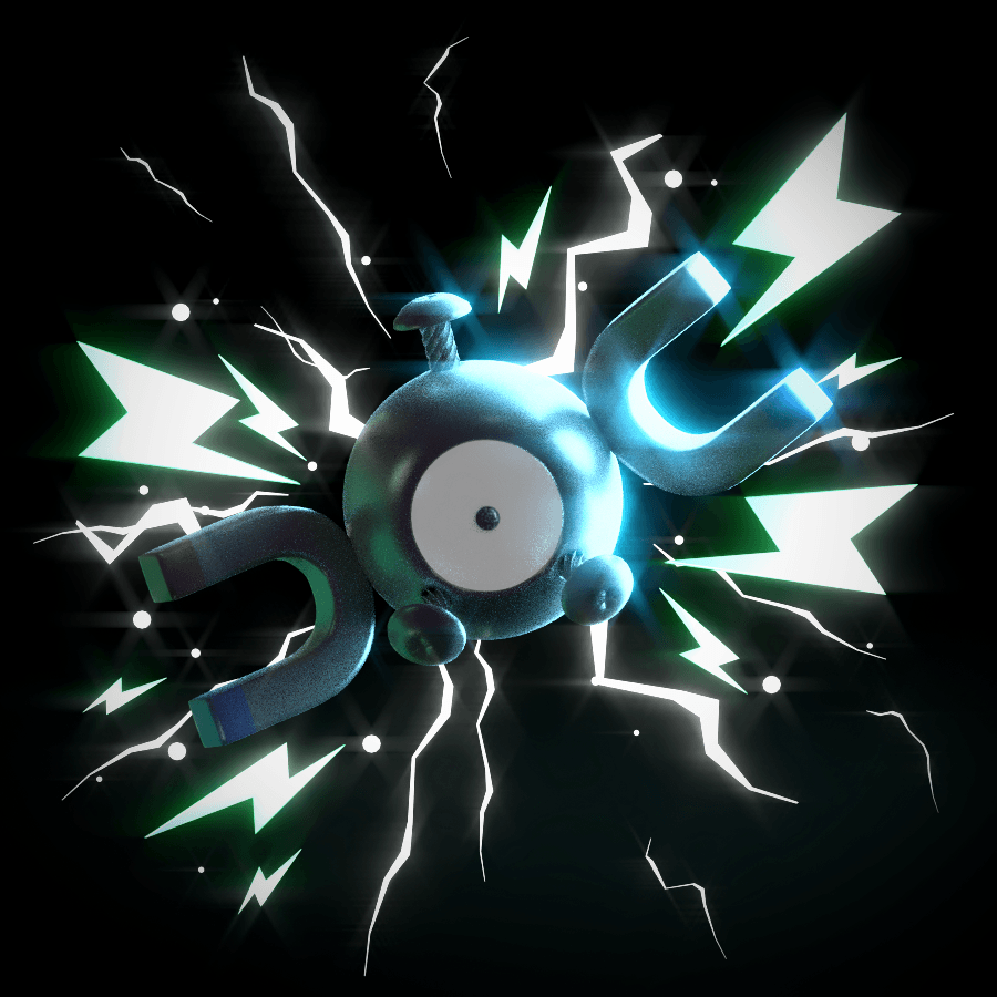 Magnemite! by SmashingRenders on DeviantArt