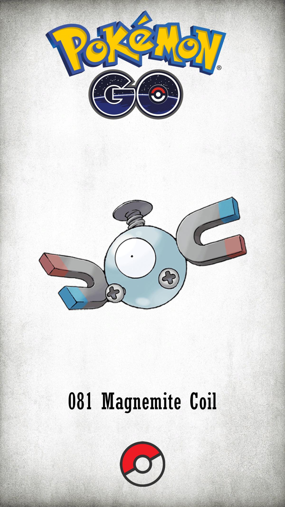 081 Character Magnemite Coil | Wallpaper