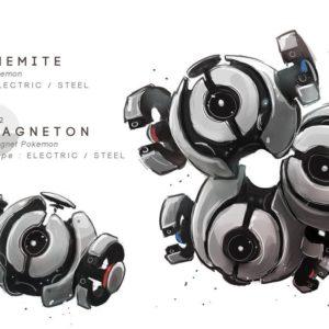 download Magnemite – Magneton by MrRedButcher on DeviantArt