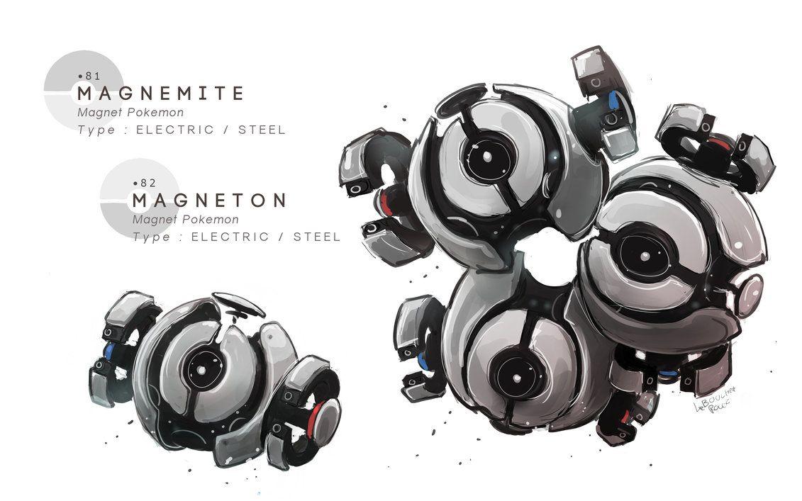 Magnemite – Magneton by MrRedButcher on DeviantArt