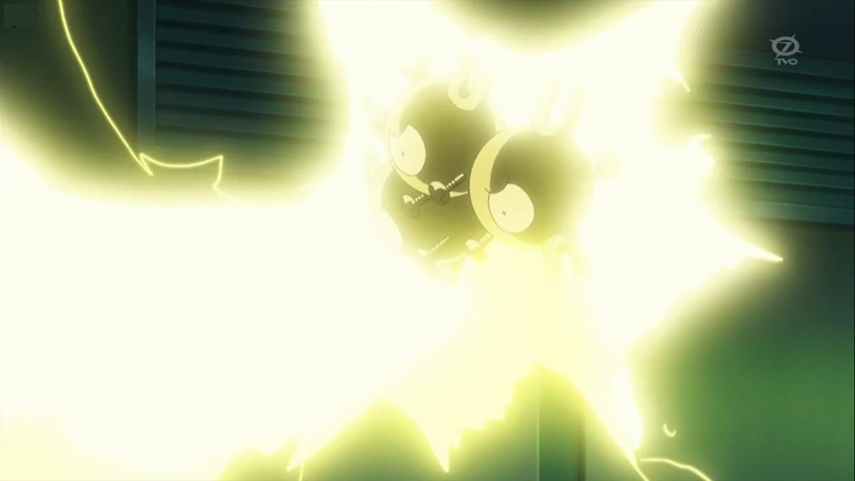 Image – Clemont Magneton Thunder Shock.png | Pokémon Wiki | FANDOM …
