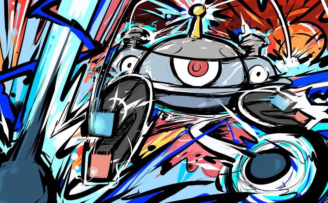 Magnezone | Magnet Bomb by ishmam on DeviantArt