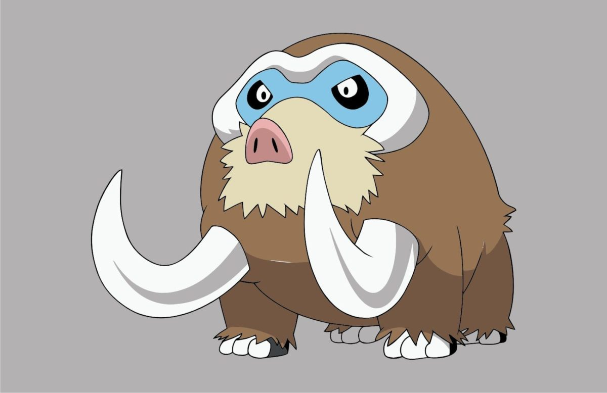 Pokemon Mamoswine | Vector Game