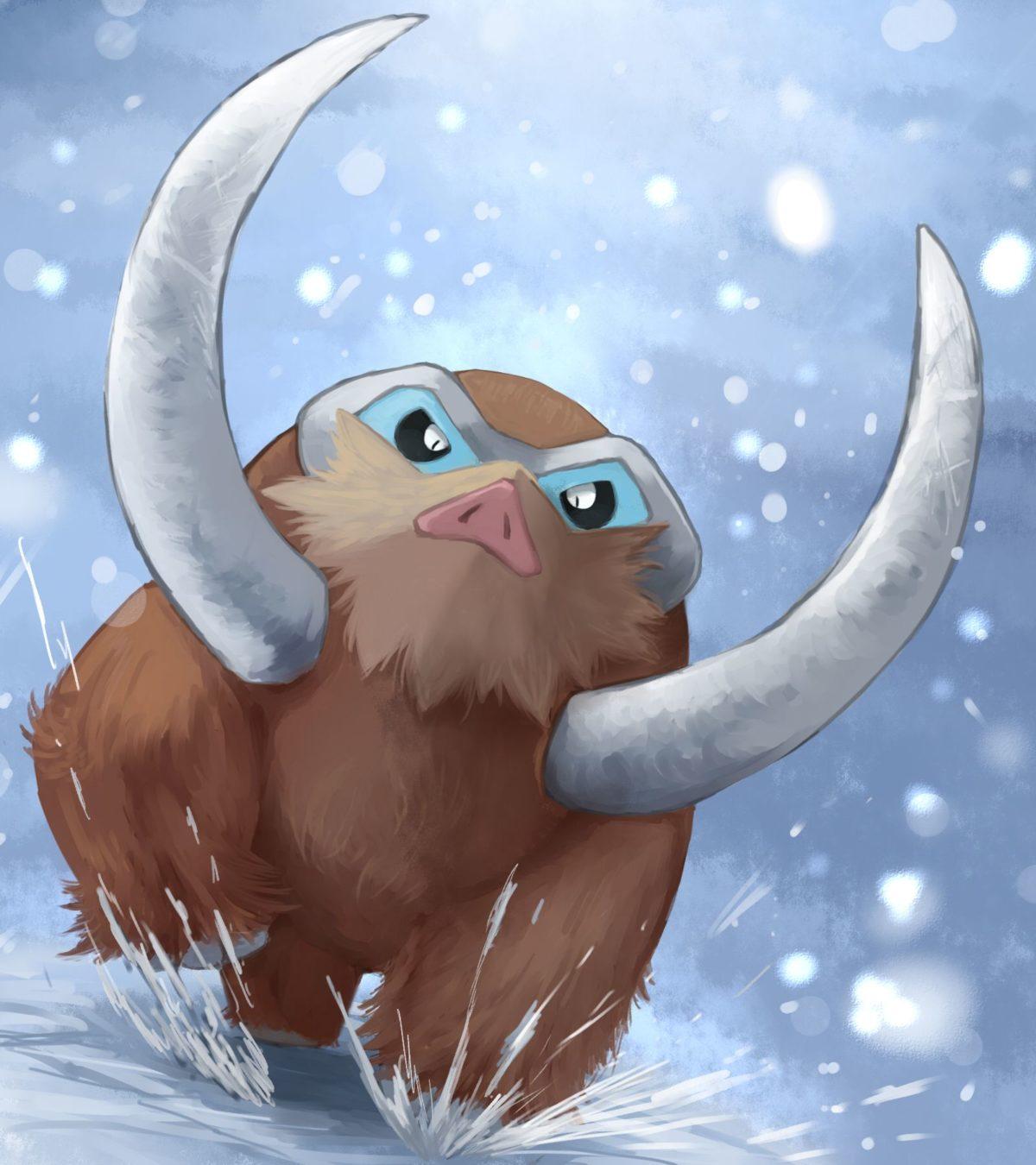 Mamoswine – Pokémon – Zerochan Anime Image Board