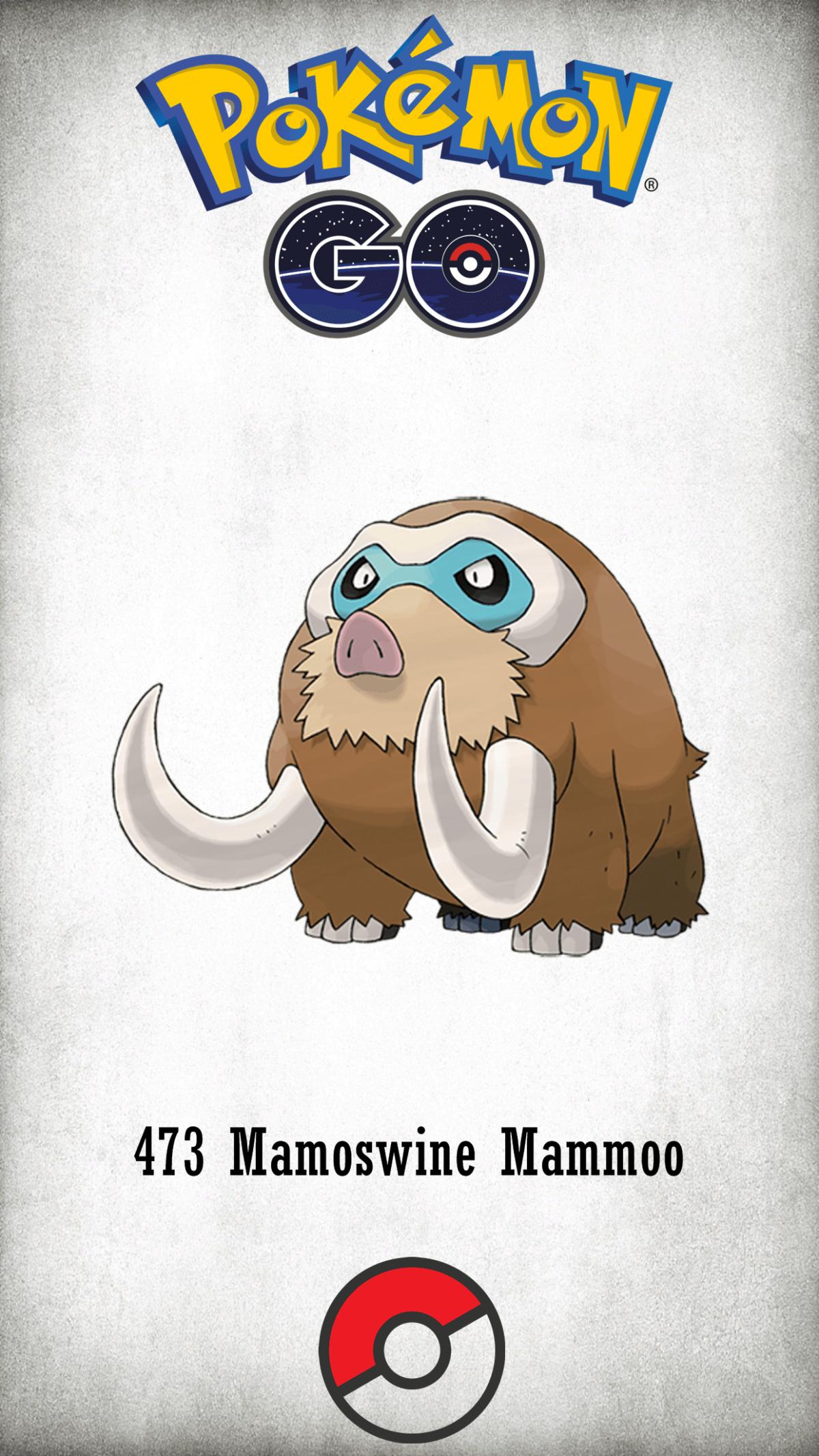 473 Character Mamoswine Mammoo | Wallpaper