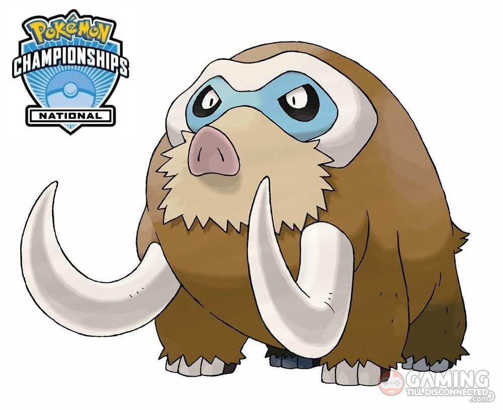 Level 50 Shiny Mamoswine Pokémon character will be distributed at …
