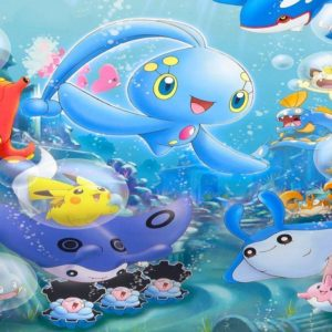 download water pokemon club images Manaphy and Friends HD wallpaper and …